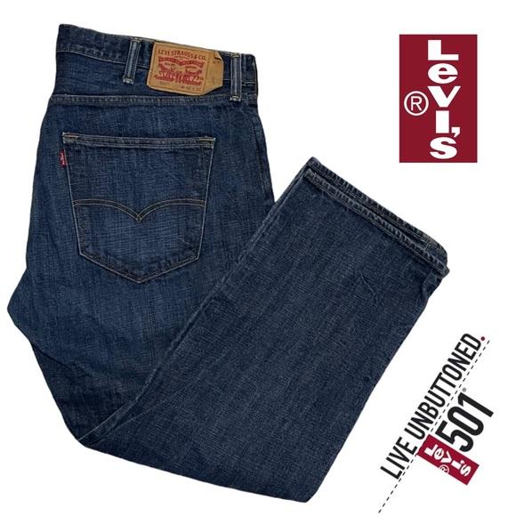 Men's Levi's 501 Jeans W 42 L 28